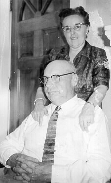Ed and Reine Nichols in about 1952