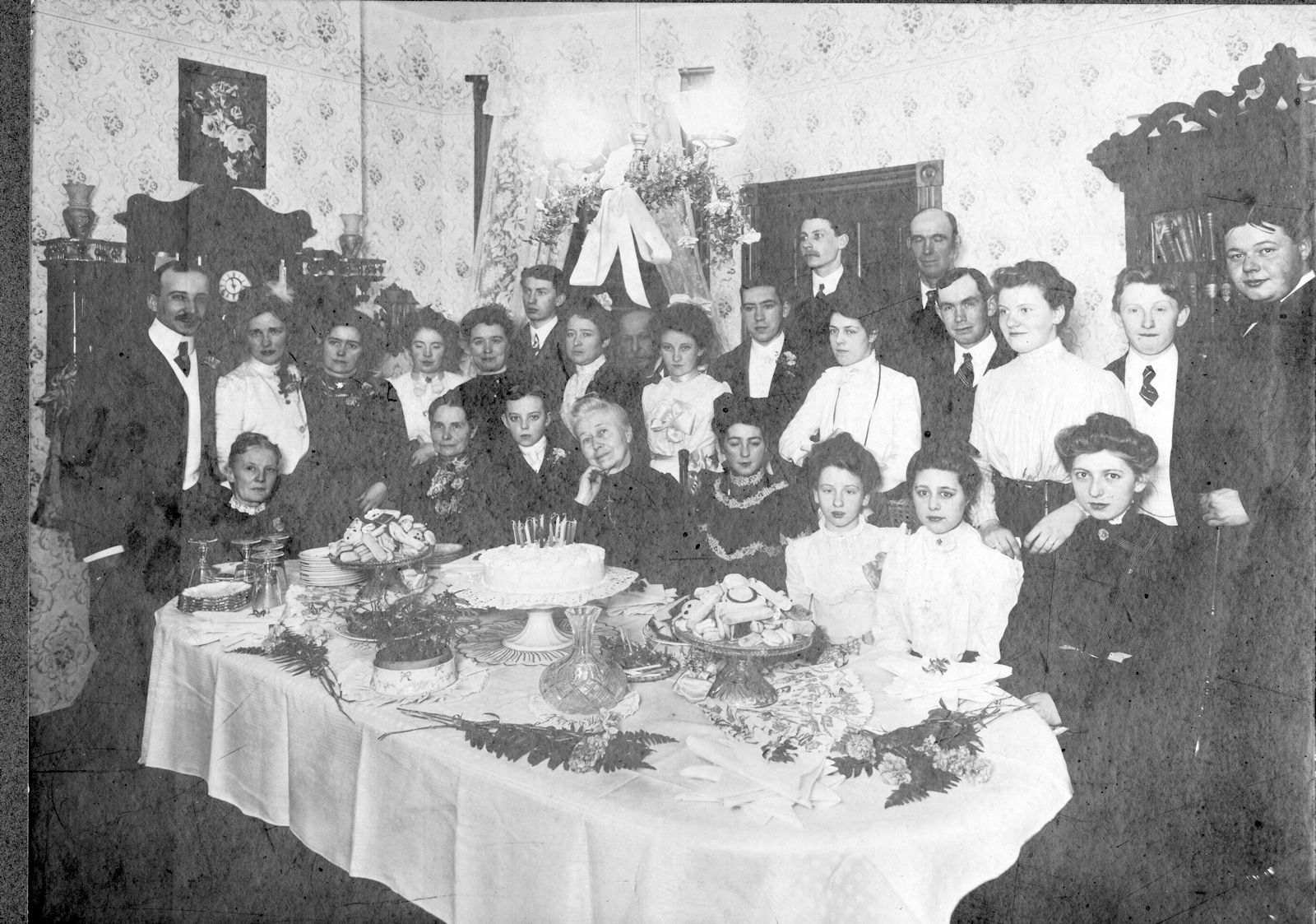 21st Birthday Celebration for Ernest John Rudolph in 1903
