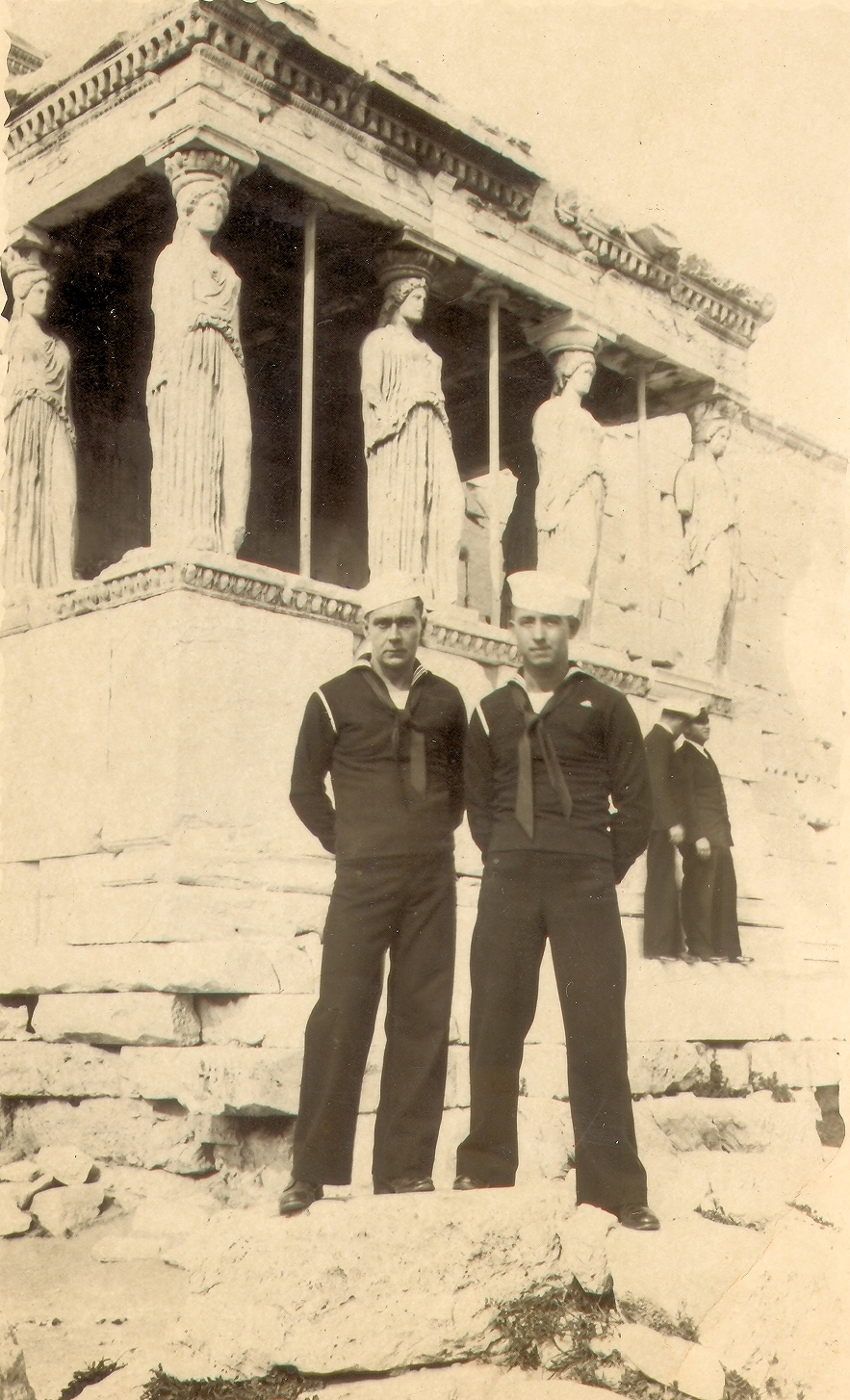 John Mason Rudolph Sr. - Athens, Greece - April 2, 1948