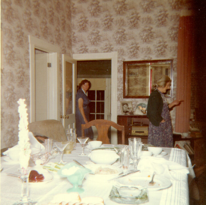A Rudolph Family Christmas Dinner in 1959