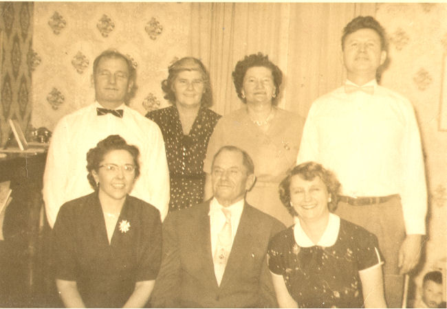 The Baumgartner Family in January 1956